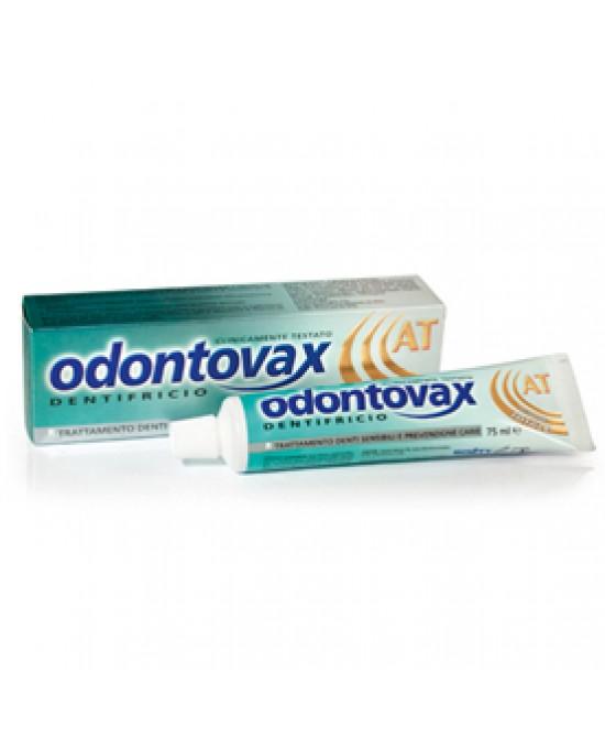 Odontovax Dentifricio AT Prevenzione Placca e Tartaro 75ml - Iltuobenessereonline.it