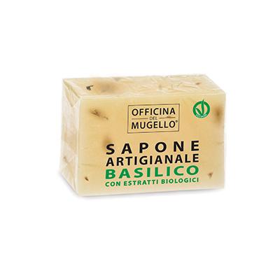 OFFICINA DEL MUGELLO SAPONE AL TAGLIO BASILICO 100 G - farmasorriso.com