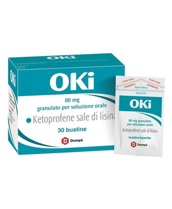 OKI*orale grat 30 bust bipartite 80 mg - Farmaci.me