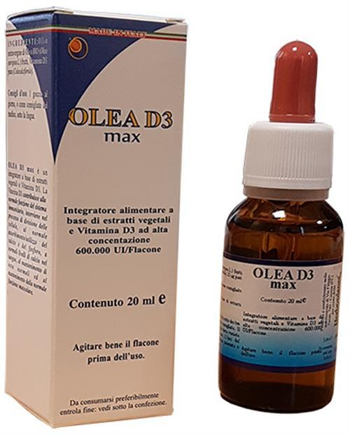 OLEA D3 PLUS GOCCE 20 ML - latuafarmaciaonline.it