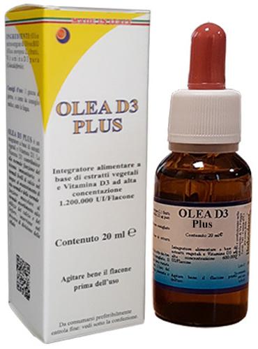 OLEA D3 PLUS GOCCE 20 ML - Farmacia Centrale Dr. Monteleone Adriano