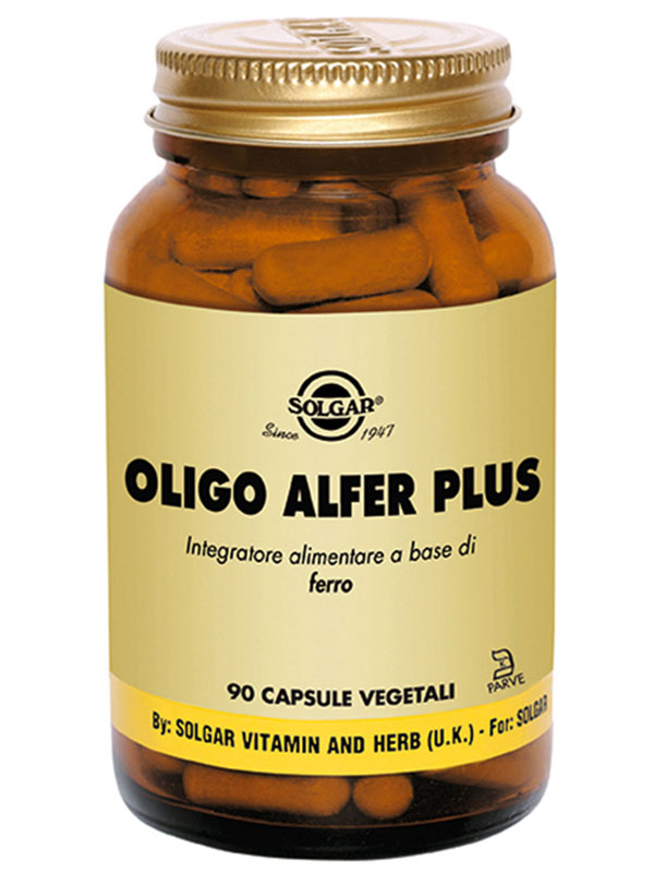 Solgar Oligo Alfer Plus 90 Capsule Vegetali - Farmacia 33