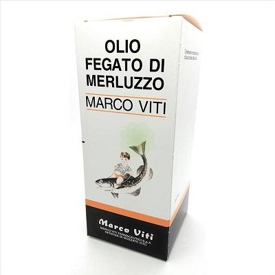 Olio Fegato Merluzzo Marco Viti 200 ml - Farmastar.it