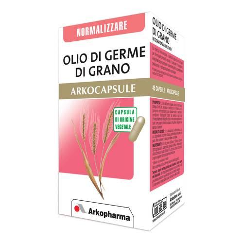 Arkocapsule Olio Germe di Grano Integratore Normalizzante 45 Capsule - latuafarmaciaonline.it