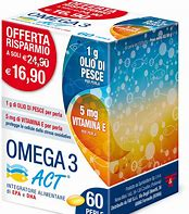 OMEGA 3 ACT 1 G - Farmaunclick.it