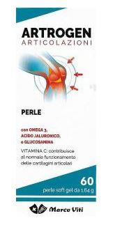 Marco Viti Omega 3 Artrogen Articolazioni Integratore Alimentare 60 Perle - Farmacia 33