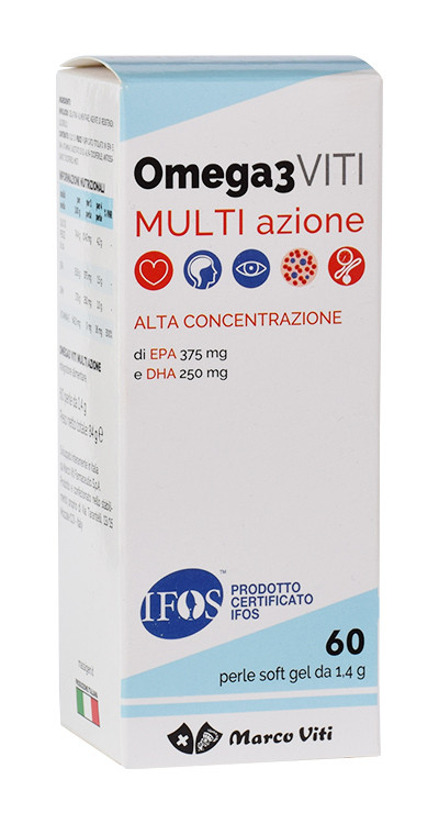 Marco viti Omega 3 Multi Azione 60 Perle (Ex Cardio) - Farmafamily.it