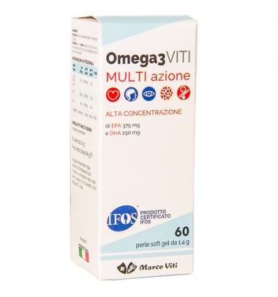 Marco viti massigen Omega3 multi azione 60 perle da 1,4g - Zfarmacia