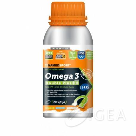 NAMED SPORT OMEGA 3 DOUBLE PLUS++ 240 CAPSULE SOFTGEL - Farmastar.it
