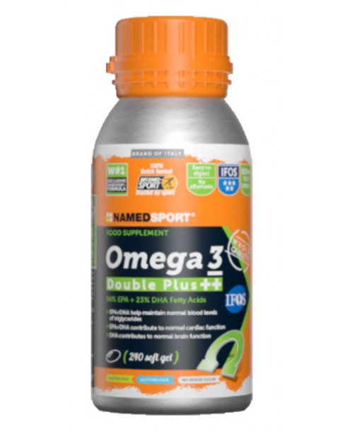 OMEGA 3 DOUBLE PLUS 240 SOFT GRLS - La farmacia digitale