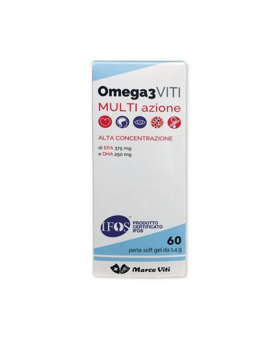 Omega3 Viti Multi Azione 60 prl - latuafarmaciaonline.it