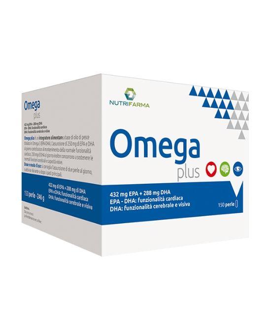 OMEGA PLUS 150 PERLE - Farmapage.it