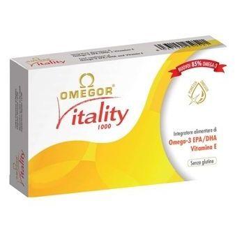 OMEGOR VITALITY 1000 60CPS MOL - Speedyfarma.it