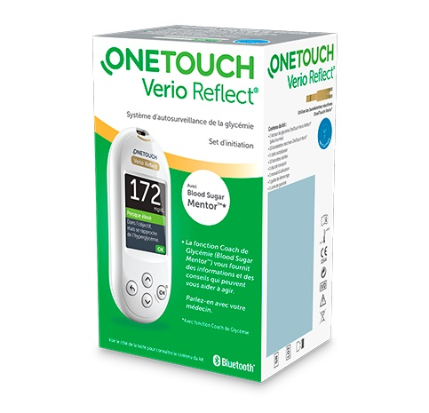 ONETOUCH VERIO REFLECT GLUCOMETRO SYSTEM KIT