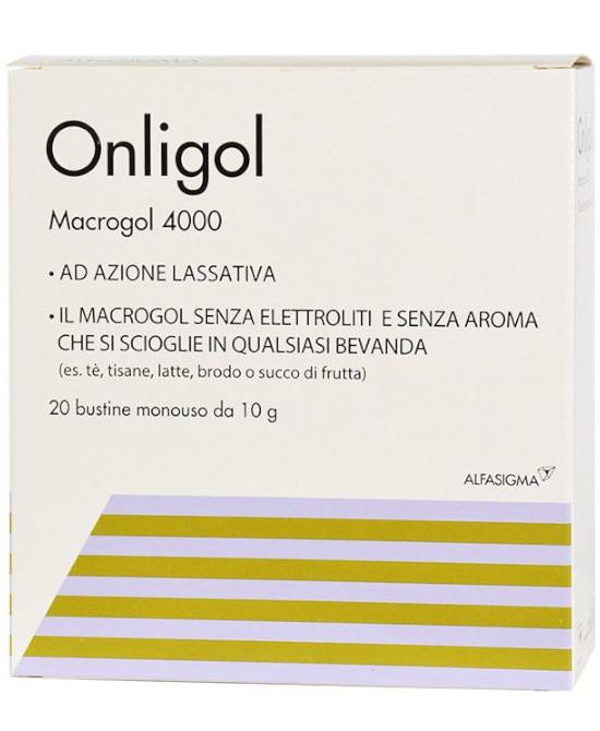 ONLIGOL TRATTAMENTO STIPSI 20 BUSTINE 10 G - Farmaci.me