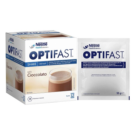 OPTIFAST SHAKE 2 1 CIOCCOLATO 6 BUSTE 110 G - Farmaconvenienza.it