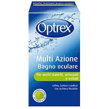 OPTREX MULTI AZIONE BAGNO OCULARE 300ML + OCCHIERA FLESSIBILE - Farmaciasconti.it