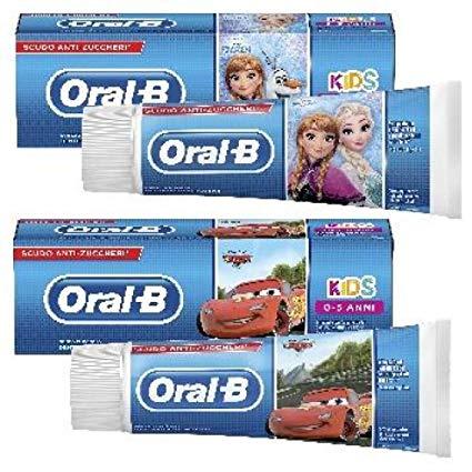 Oral-B Dentifricio Kids Frozen&Cars 0-5 Anni 75 ml 1 Pezzo - Farmalilla