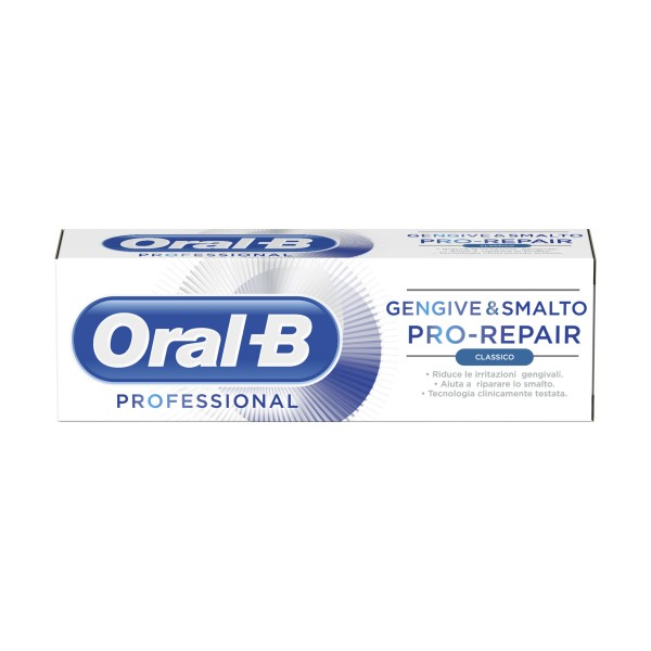 ORAL-B GENGIVE E SMALTO PRO REPAIR DENTIFRICIO 85 ML - Farmacento
