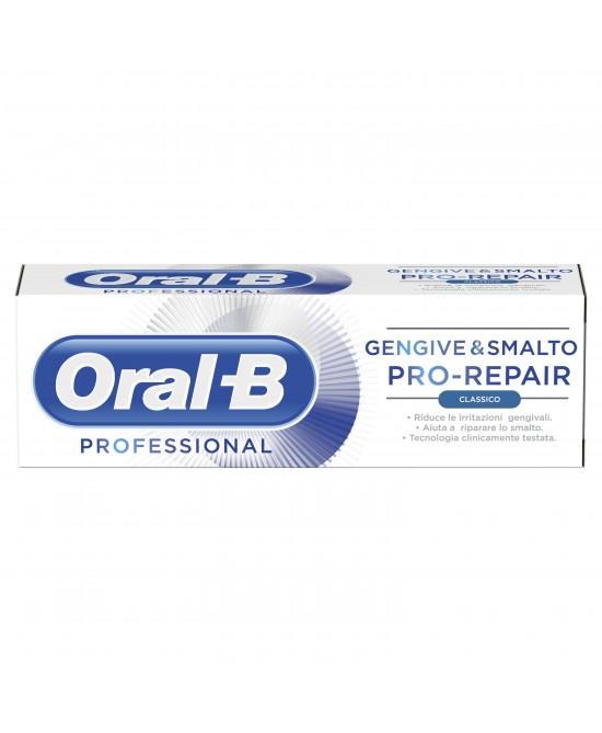 ORAL-B GENGIVE E SMALTO PRO REPAIR DENTIFRICIO 85 ML - Farmaciasconti.it