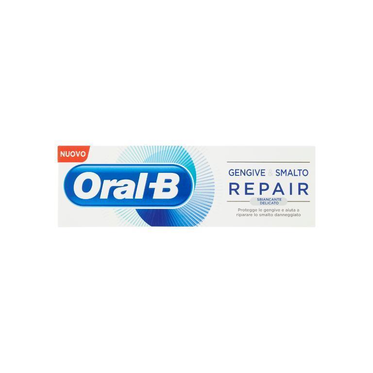 ORAL B GENGIVE E SMALTO REPAIR WHITENING DENTIFRICIO 85 ML - Nowfarma.it