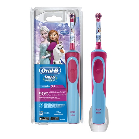 ORAL-B POWER VITALITY D100 KIDS FROZEN - FARMAPRIME