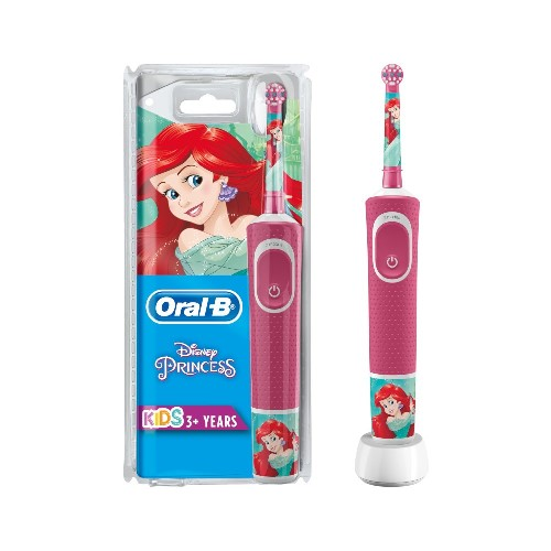 ORAL-B POWER VITALITY D100 KIDS PRINCESS SPAZZOLINO ELETTRICO BAMBINA - Farmaconvenienza.it