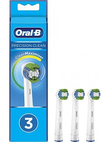 Oral-B Precision Clean Testine di Ricambio con Clean Maximiser 3 Pezzi - Sempredisponibile.it