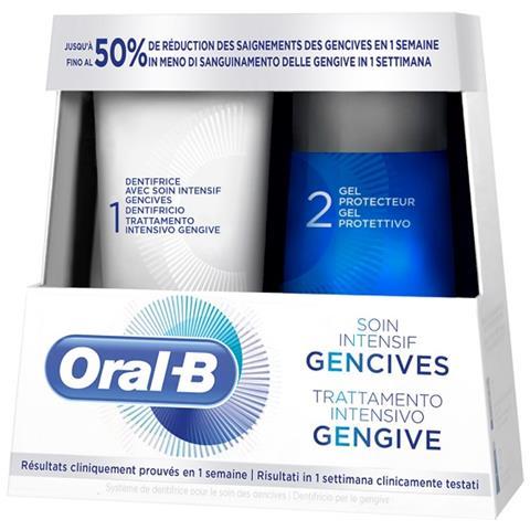 ORAL-B TRATTAMENTO INTENSIVO GENGIVE 85 ML + 63 ML - Farmaconvenienza.it