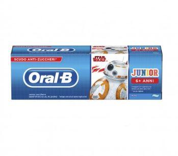 ORALB DENTIFRICIO JUNIOR STAR WARS 6-12 ANNI 75 ML - Farmacia 33