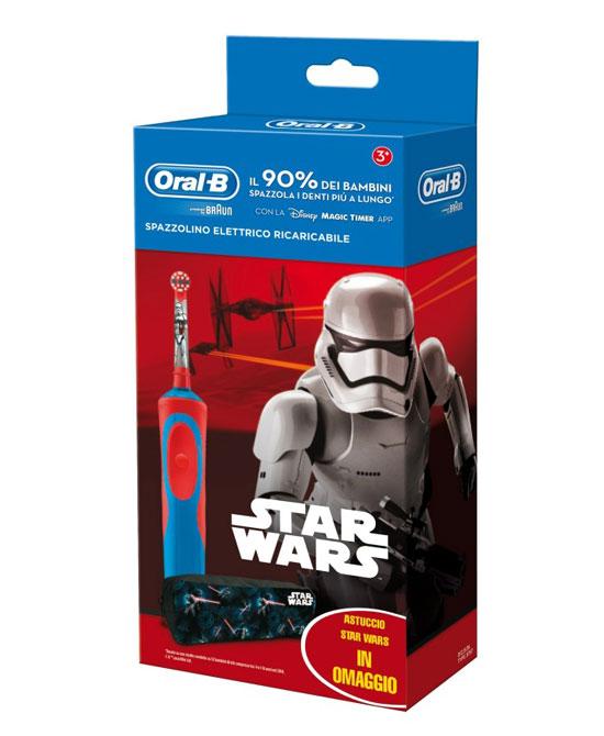 ORAL-B POWER VITALITY KIDS STAR WARS SPECIAL PACK - La tua farmacia online