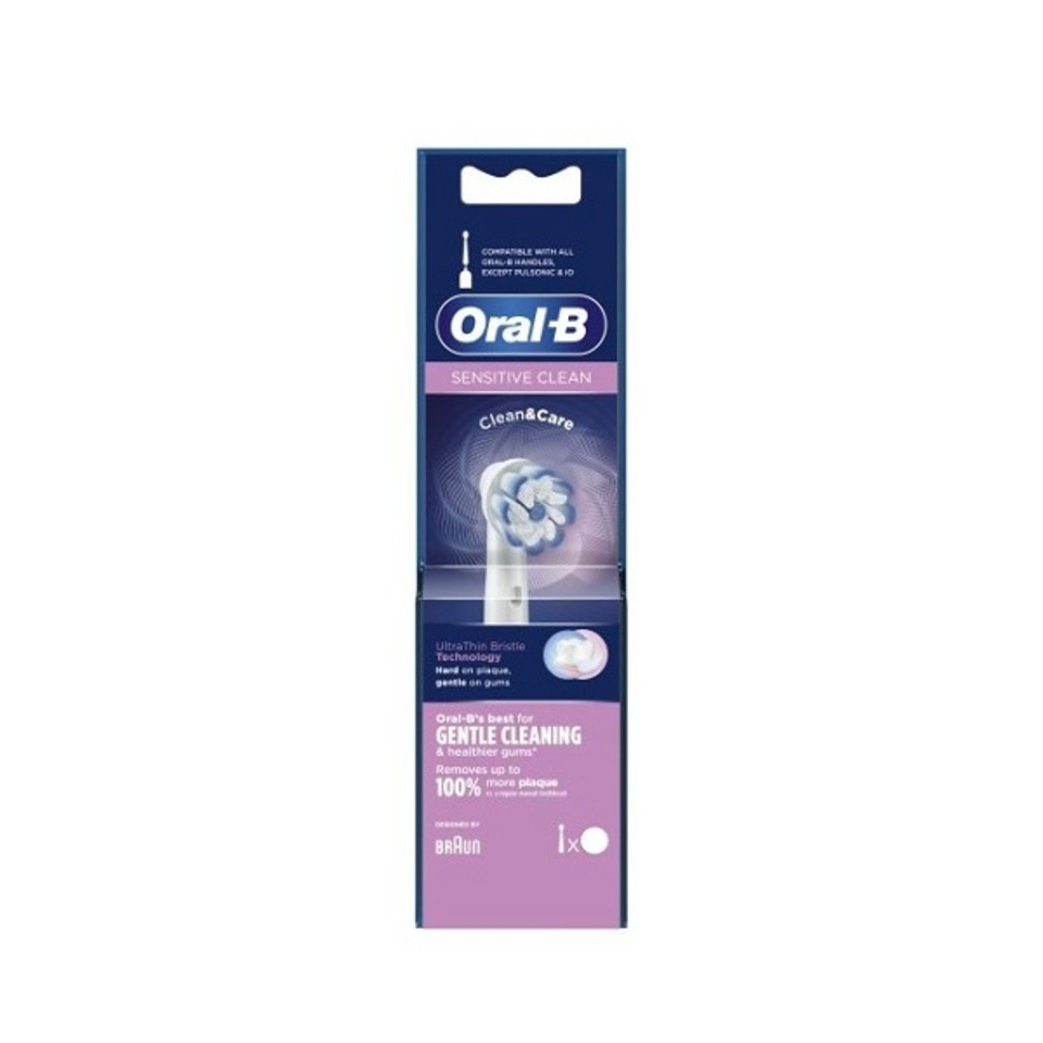 ORALB REFILL EB-60-5 SENSITIVE CLEAN - Farmaseller