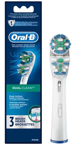 ORALB TESTINE DUALCLEAN EB417/3 - Farmacia Centrale Dr. Monteleone Adriano