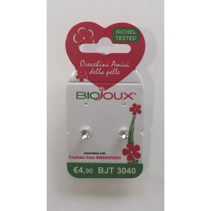 Orecchini Biojoux 3040 Cristallo 4mm - Sempredisponibile.it