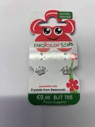 Orecchini Biojoux 705 Baby Crown - Arcafarma.it