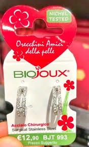Orecchini Biojoux 993 Crystal Ear Cuff - Sempredisponibile.it