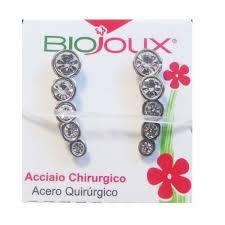 ORECCHINO POST FORATURA EAR-CUFF 5 CRYSTALS ARTICOLO BJT952 - Farmawing