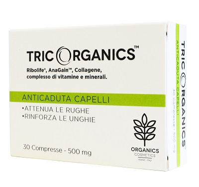 ORGANICS PHARM TRICORGANICS ANTI CADUTA CAPELLI 30 COMPRESSE - Farmastar.it