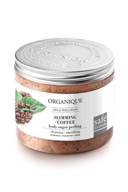 ORGANIQUE COFFEE SUGAR PEELING 200 ML - Farmapage.it