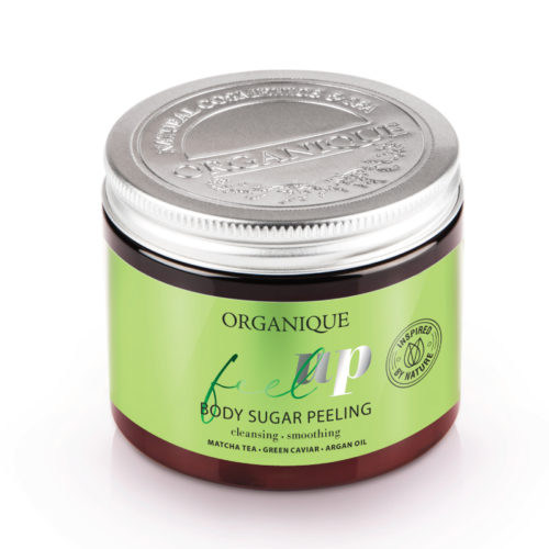 ORGANIQUE FEEL UP SUGAR PEELING 200 ML - Farmapage.it