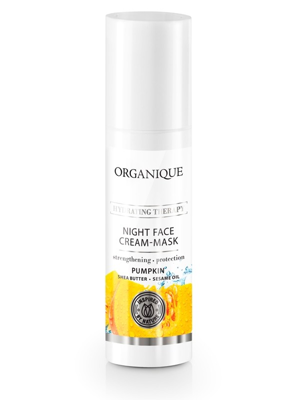 ORGANIQUE NIGHT FACE CREAM MASK PUMPKIN 50 ML - Farmapage.it
