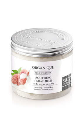 ORGANIQUE PEELING DI ZUCCHERO AL LATTE 200 ML - Farmapage.it