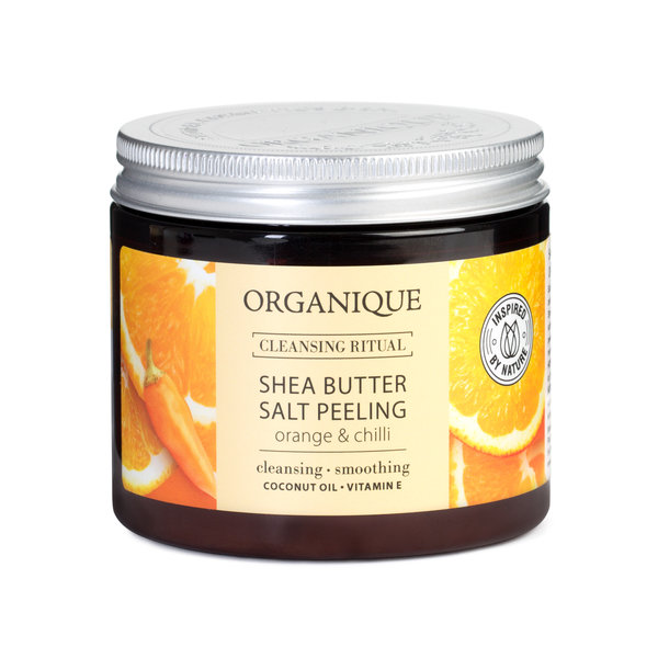 ORGANIQUE SHEA BUTTER SALT PEELING ORANGE & CHILLI 200 ML - Farmapage.it