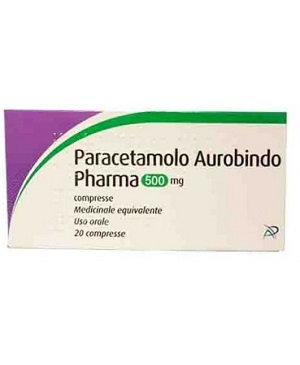 PARACETAMOLO AUR*20CPR 500MG - farmaventura.it