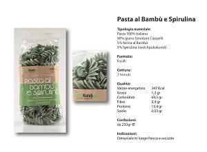 Pasta al Bambù e spirulina - Farmawing