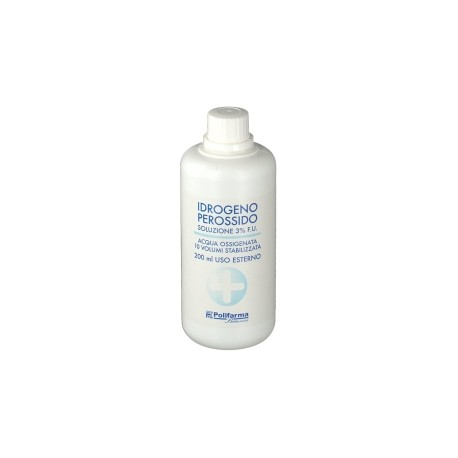 Acqua Ossigenata  3% 200 ML - FARMAPRIME
