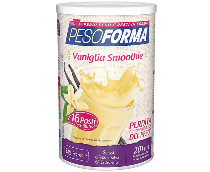 Pesoforma Vaniglia Smoothie 16 Pasti Sostitutivi  - Farmacielo