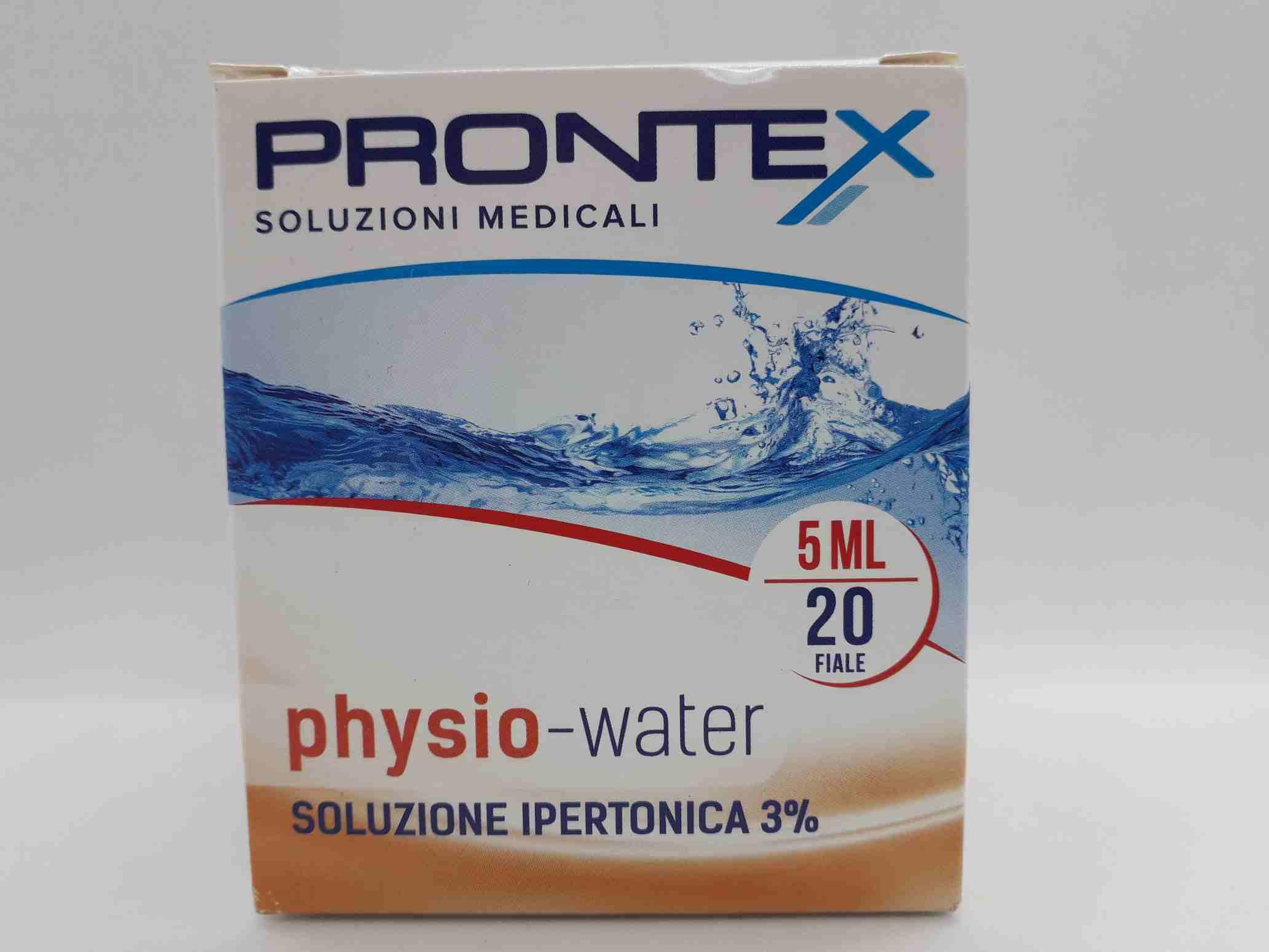 PHYSIO-WATER IPERTONICA FIALE 5 ML - Farmaciaempatica.it