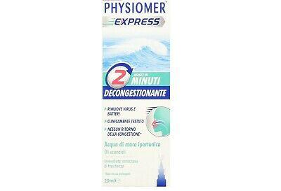 PHYSIOMER DECONGESTIONANTE 20 ML - latuafarmaciaonline.it