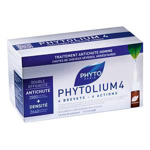 PHYTO PHYTOLIUM4 TRATTAMENTO ANTICADUTA CAPELLI UOMO 12 FIALE 3,5 ML - farmaciadeglispeziali.it